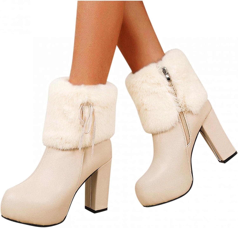 Gibobby Platform Boots for Women Ro Overseas parallel import regular Manufacturer OFFicial shop item Women's Fashion Dressy Retro