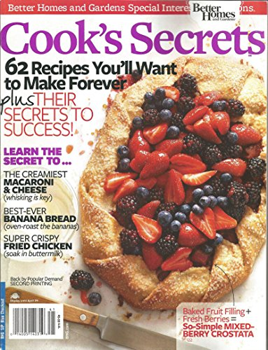 Cooks Secrets 2014 (Better Homes and Gardens Special Interest Publication)