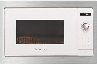 De Dietrich DME7121W - Microondas (Integrado, Solo microondas, 26 L, Botones, Giratorio, Blanco, Botón)