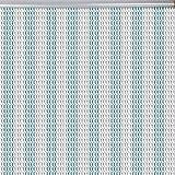 Cortina de Chian, cortina de cadena de metal de aluminio Puerta de insecto Enlace de cadena Cortina de mosca Pantalla de cortina Persianas Control de plagas Cortina Ajustar Todos los tamaños de puerta