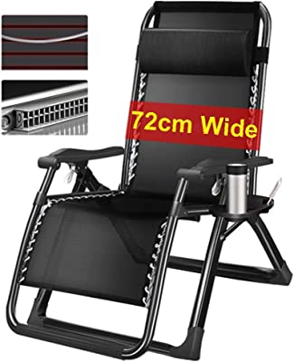 Amazon.com: YXX - Silla reclinable de gravedad cero plegable ...