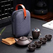 Quik Travel przenośna herbata (kolor: Szyny Fukui jeden garnek i cztery szklanki)