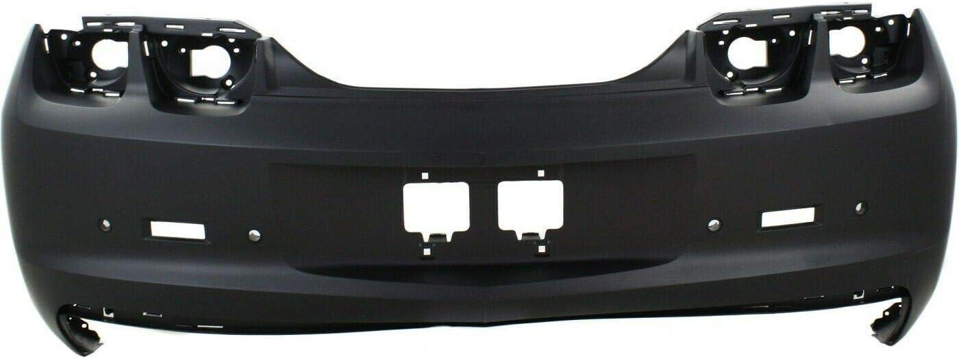 Vooviro Excellent New product!! Rear w Obj Fashion Bumper Compatibl Holes Sensor Cover