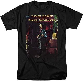 David Bowie Ziggy Stardust Rock Album T Shirt & Stickers