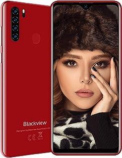 Blackview A80 Plus (2021) 4G smartphone zonder abonnement, voordelig 6,49 inch Android 10 4GB RAM + 64GB ROM, 128GB uitbre...
