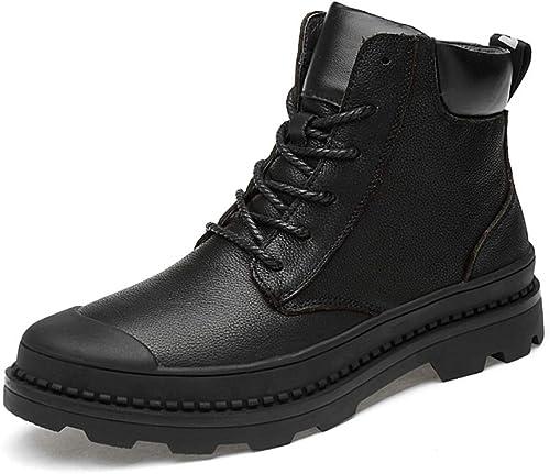 chaussures House Bottes d'hiver en Coton Chaud Anti-Dérapant Bottes De Neige Imperméables