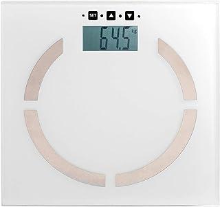 Domoclip DOM254W Báscula Personal electrónica Plaza Blanco - Báscula de baño (Báscula Personal electrónica, 180 kg, 100 g, kg, LB, ST, Plaza, Blanco)