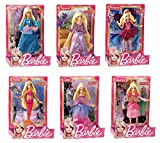 Mattel - Muñeca Mini Princesa Barbie (V7050), surtido, 1 unidad