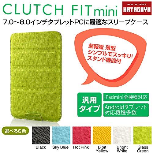 幡ヶ谷カバン製作所 CLUTCH FIT mini(7?8インチタブレットPC用薄型軽量 タブレットスリーブケース) グラ...
