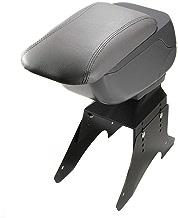 piel sint/ética Universal 48016 Reposabrazos para consola central de coche color gris