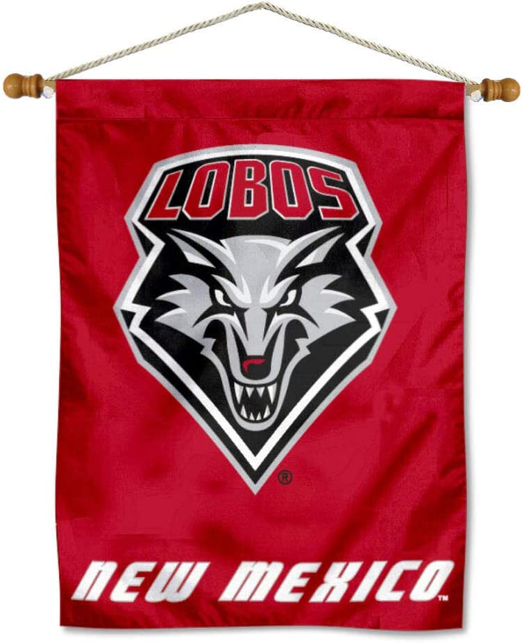 New Limited price sale Mexico Lobos Sales results No. 1 Banner with Pole Hanging