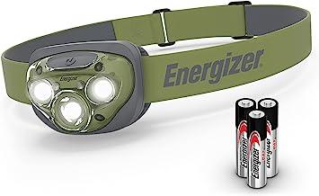 Energizer High-Powered LED Headlamp Flashlights, IPX4 Water Resistant, Super Bright LED, Multiple Light Modes, Best Headli...