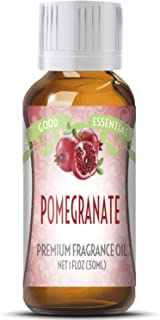 Pomegranate Scented Oil by Good Essential (Huge 1oz Bottle - Premium Grade Fragrance Oil) - Perfect for Aromatherapy, Soap...