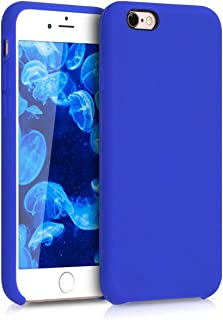 kwmobile TPU Silicone Case for Apple iPhone 6 / 6S - Soft Flexible Rubber Protective Cover - Royal Blue