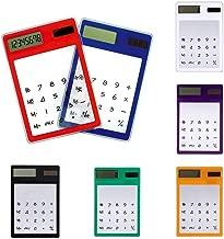 $20 » Kentew Bulges Mini Ultra Slim Portable Transparent LCD Screen Display Solar Calculators Ba Basic