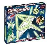 Supermag, LineaTags Glow, Gioco Costruzioni Magnetiche Fluorescenti per Bambini, Barrette ...