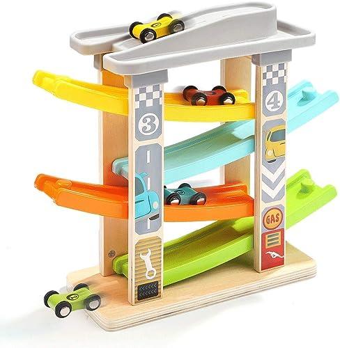 Little Toys Kinderspielzeug Tischspiele Früherziehung Puzzle Junge mädchen 2-3 Jahre alt Spielzeugauto Intelligenz Entwicklung Segelflugzeug Rennspielzeug (Größe   A)
