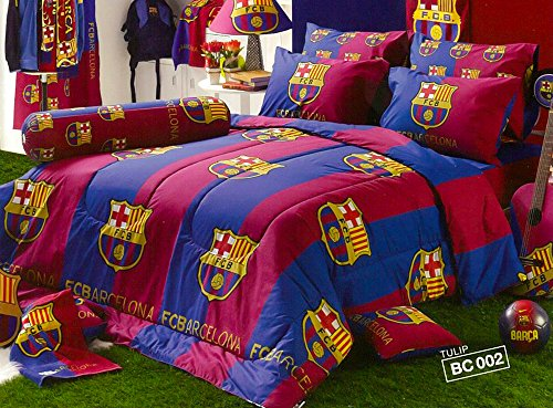 Affordable Barcelona Fc Football Club Official Licensed Bedding Set, Bed Sheet, Pillow Case, Bolster...