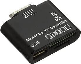 JEXON USB OTG Connection Kit and Card Reader for Samsung Galaxy Tab 10.1 P7500 P7510 Black (SANOXY_GTAB-OTG)
