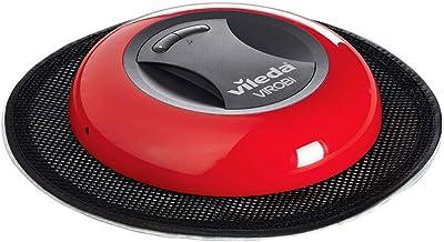 Vileda 149932 Virobi SLIM Robot Sprzątający, Poliwęglany, 1600 W, Czerwony/Czarny
