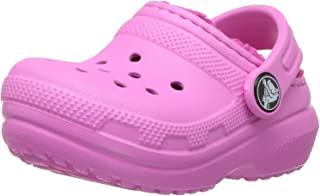 Kids' Classic Lined Clog | Indoor or Outdoor Warm and Cozy Toddler Shoe or Slipper