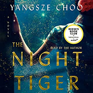 The Night Tiger audiobook cover art