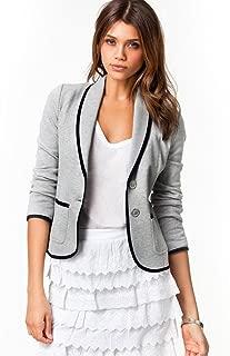 iYBUIA All Season Women Business Short Coat Blazer Suit Long Sleeve Tops Slim Jacket Outwear Size (S-6XL)