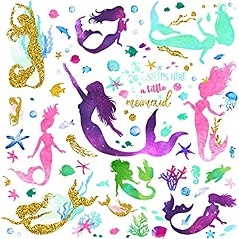 Best mermaid decals for walls Reviews