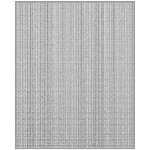 Insektenschutz Fliegengitter - Pollenschutzgewebe für die Montage am Fensterrahmen - frei zuschneidbar - in verschiedenen Größen (130 x 150 cm)