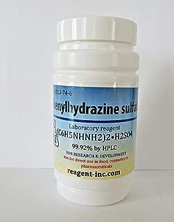 Phenylhydrazine sulfate, Analytical Reagent, 99.92%, 50 g