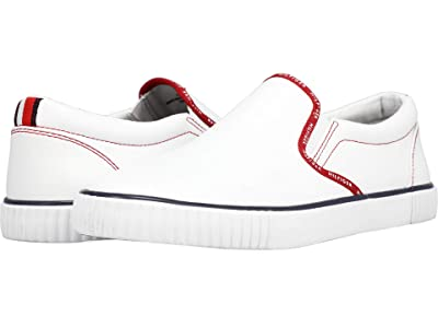 Tommy Hilfiger Eastin 2 (White/Tropic Red/Signature/White) Women