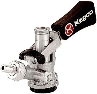 Kegco KC KTS97D-W D System Keg Tap, Stainless Steel