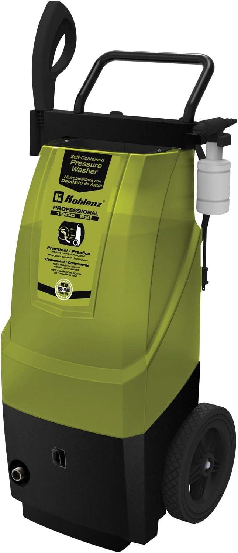 Koblenz HLT 370 1900 PSI Electric Pressure Black Max 41% OFF Washer Green Ranking TOP3