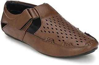 SHOE DAY Men's Artificial Leather Roman Sandal