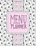 Menu Planner: Calendar & Menu Maker to Plan Your Meals & Diet: Volume 58