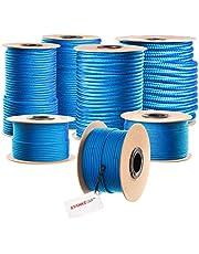 Seilwerk STANKE cuerda de polipropileno trenzada pp azul amarra cuerda trenzada jarcias cuerdas de auxiliar
