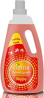 Fiama Happy Moisturising hand wash, Grapefruit and Bergamont, 1000ml