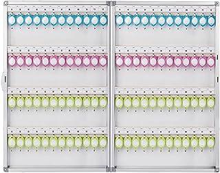 Armoires à clés Armoire À Clés Boîte De Rangement Boîte De Gestion Murale pour Ménage Armoire À Clés avec Serrure 72/96/12...