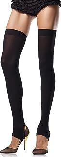 Leg Avenue womens 6310 Opaque Stirrup Thigh Highs Hosiery