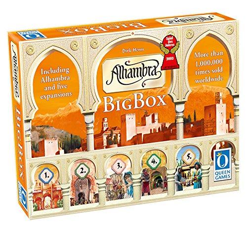Alhambra Rio Grande Games - Juego de Mesa Big Game (Contenido en inglés)