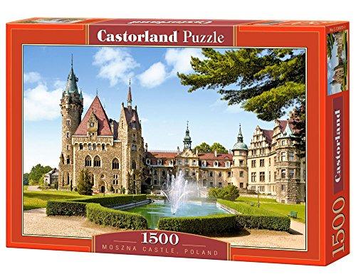 Puzzle Château de Moszna, Pologne Castorland
