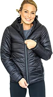 womens black down coat