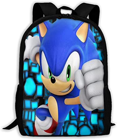 Sonic 01 Basic Travel Bag for Men Women Daily Backpack for School Climbing and Other Exercises