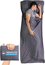 Sleeping Bag Liner -Camping Sheet Travel Bed Sack - XL Lightweight Camp Bag Linersfor Adults - forHotels, Hostels, Traveling, Backpacking & Hiking - Smooth, Breathable & Comfortable FabricLinens