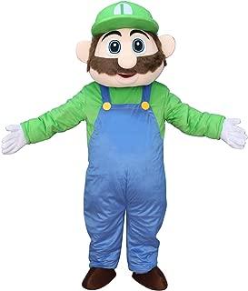 mario and luigi mascot costumes