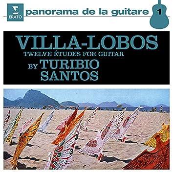 Villa-Lobos: 12 Études for Guitar, W235