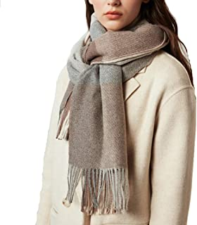 Women Cashmere Wool Scarf Shawl Wraps - Extra Large Thick Soft Pashmina with box