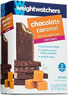 Weight Watchers Chocolate Caramel Mini Bars, 2 Smart Points (3 Pack)