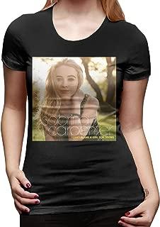 Sabrina Carpenter Women's Basic Short Sleeve T-Shirt Black