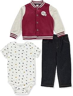 Carter's Baby Boys' Half-Pint 3-Piece Pants Set Outfit